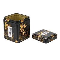 NNMNBV Boîte à thé en métal carrée pour café en Poudre