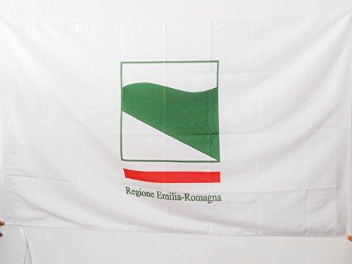 AZ FLAG Bandera de Emilia-ROMAÑA 150x90cm para Palo - Bandera DE Emilia-Romagna - Italia 90 x 150 cm