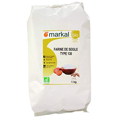MARKAL - Farine De Seigle T130 France 1Kg
