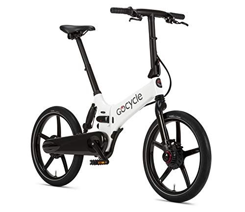 Gocycle GX Bicicletta Pieghevole E-Bike White Gloss