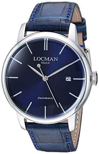 Locman Italy Reloj analógico para Hombre de 0255A02A-00BLNKPB