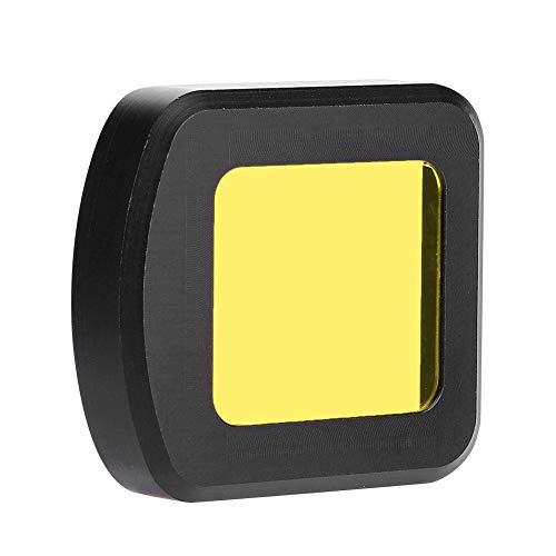 Mugast UV-camerafilter, lichte, duurzame UV-filter voor de SJCAM SJ8 Air/Pro/Plus sportcamera, geel