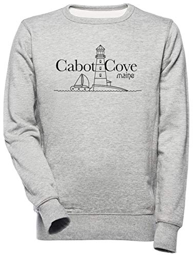 Cabot Cove, Maine - Murder She Wrote Unisexo Hombre Mujer Sudadera Gris Unisex Men's Women's Jumper