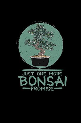 Just one more bonsai: 6x9 Bonsai | dotgrid | dot grid paper | notebook | notes