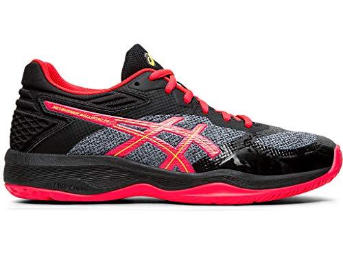 ASICS Women's Netburner Ballistic FF Volleyball Shoes, 9M, Black/Laser Pink