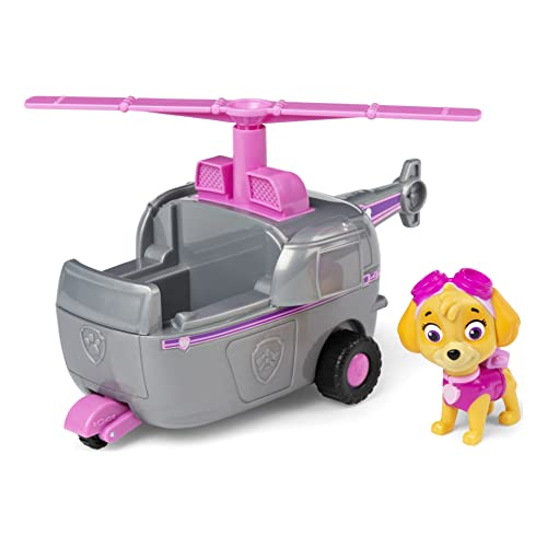 Paw Patrol, Skye?s Helicopter Vehicle with Collectible Figure, for Kids Aged 3 and Up