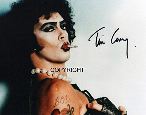 Limited Edition Tim Curry Rocky Horror Unterzeichnet Foto Autogramm signiertsigniertes