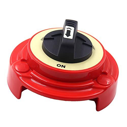 Toygogo 250A 2-Positionen Doppelbatterie Wahlschalter Trennschalter Hauptschalter für Boot Wohnmobil