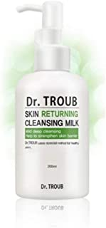 Sidmool Dr. Troub Skin Returning Cleansing Milk Mild Deep 6.7oz K-beauty