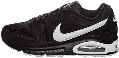 Nike Herren Men's Air Max Command Shoe Sneaker, Schwarz (Black/White/cool Grey), 40 EU