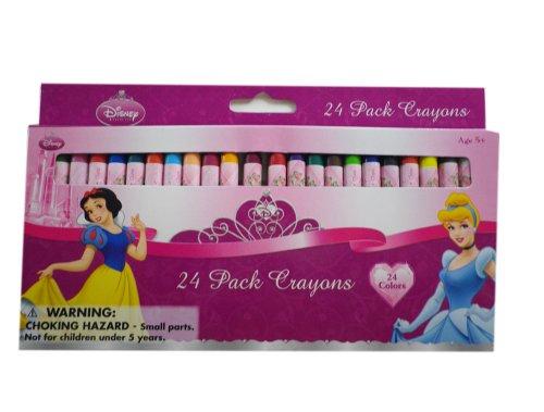Disney Princesse Crayons - Set de 24 Crayons