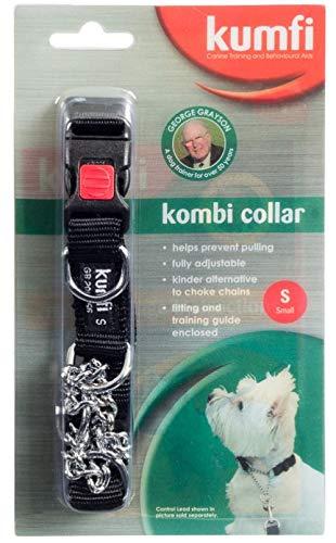 Collar ajustable perro Kumfi cierre presión anillo