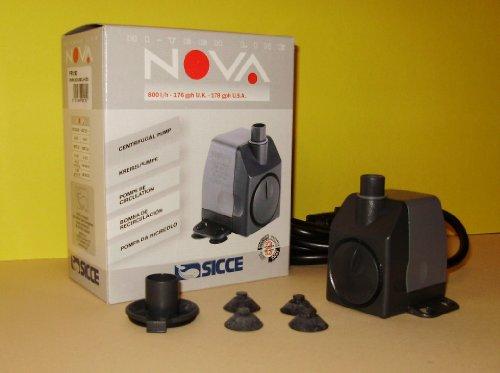 Pompe pour fontaine dintérieur 800 l/h Sicce Nova PRN160 2.2 m