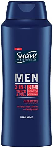 Suave Men 2 in Shampoo and Conditioner Thick Full 28 oz product image