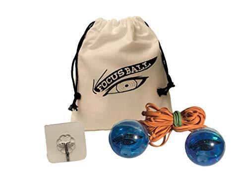 The Focus Ball Boxing Ball Reflex, Accuracy, Strike Combat Trainer (Blue Expert)
