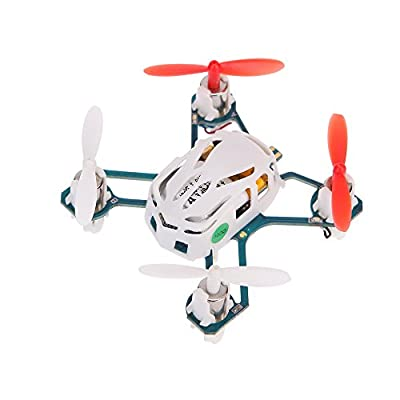 Hubsan NANO Q4 H111 4-CH Mini Drone 2.4 GHz RTF RC Quadcopter UFO with 6 Axis Gyroscope / LED