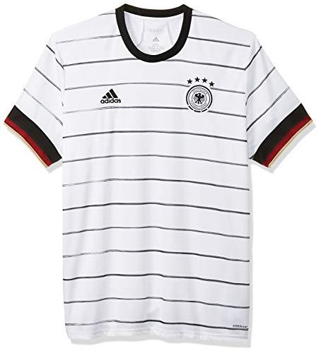 adidas Herren DFB-Jersey EM 2020, schwarz-weiß