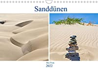 Sandduenen - Boa Vista (Wandkalender 2022 DIN A4 quer): Duenenlandschaft auf der Kapverdischen Insel - Boa Vista. (Monatskalender, 14 Seiten )