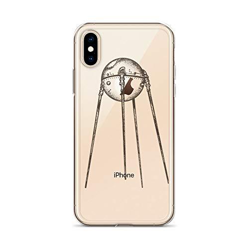 blitzversand Handyhülle Sputnik Laika Russland kompatibel für LG G6 Sputnik Trabant Schutz Hülle Case Bumper transparent M5