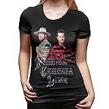 Florida Georgia Line T Shirt Womens Shirt Classic Short Sleeve Tee M Black