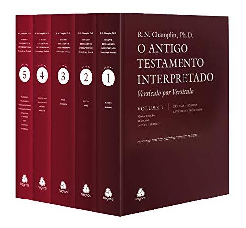 Antigo Testamento Interpretado: 5 Volumes: Versículo por Versículo