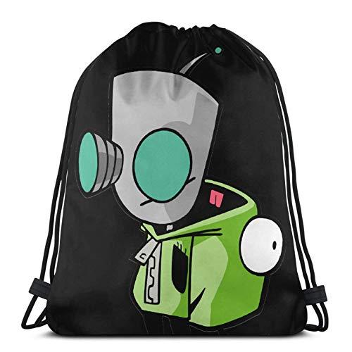 Gir Wearing Dog Suit (Without) Pullover Hoodie -(1) Drawstring Bag Sports Fitness Bag Travel Bag Gift Bag