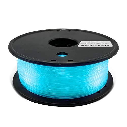 GIDERWEL Fiber Optic Light Cable 0.04 inch(1.0mm) PMMA Plastic End...
