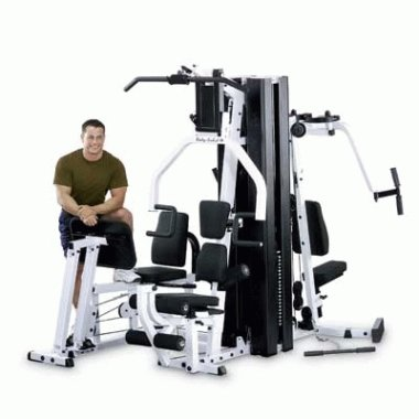 BODY SOLID (EXM3000LPS) Strength Building Multi Home Gym System