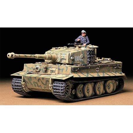 Tamiya America, Inc 1/35 Tiger I Mid Production, TAM35194