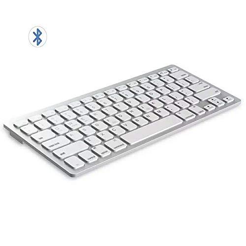 Teclado y Ratón inalámbrico, teclado batería de larga duración Diseño ergonómico inalámbrico Bluetooth Combo de ratón para la computadora, escritorio, PC, ordenador portátil, Smart TV y Windows 10/8/7