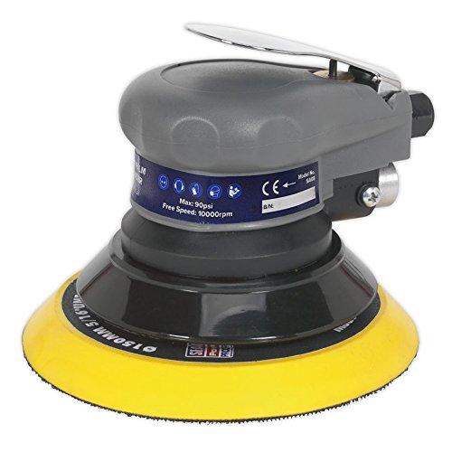 Sealey SA08 - Lijadora excéntrica (tamaño: 150 mm)