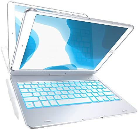 iPad 8th Gen 10 2 inch 2020 Keyboard Case 7th Gen Air 3 Pro 10 5 Compatible 10 Color Backlight product image