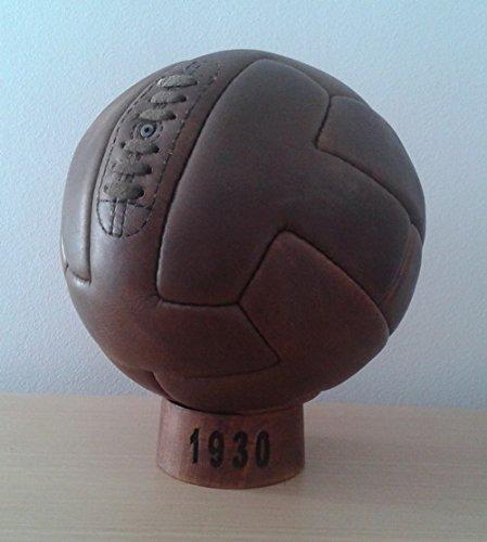 Balon Oficial Futbol del Mundial DE Uruguay 1930. Modelo T-Shape.