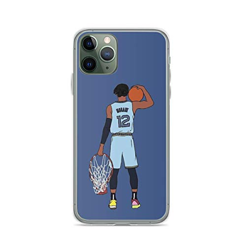 Phone Case Ja Morant and The Rim Compatible with iPhone 6 6s 7 8 X XS XR 11 Pro Max SE 2020 Samsung Galaxy Accessories Tested