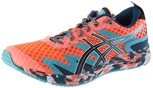 ASICS Mens Gel-Noosa TRI 12 Running Shoe, Sunrise RED/Black,44.5 EU
