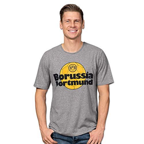 BVB-T-Shirt Retrospektiv für Herren grau XL