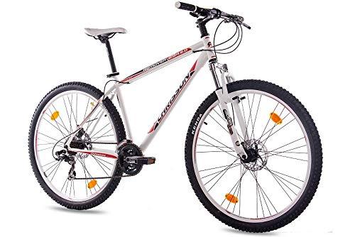 '29pollici MTB Mountain Bike Bicicletta chrisson Remover 2.0con 21G SHIMANO 2X Disk Bianco Opaco