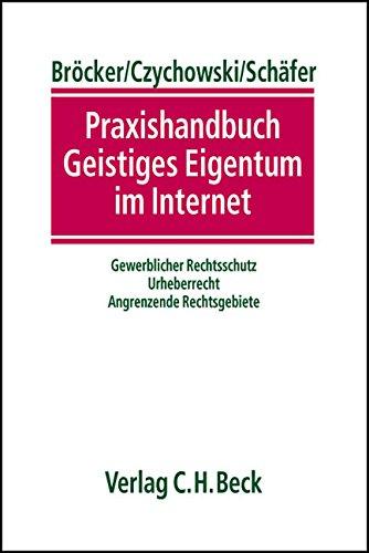 Praxishandbuch Geistiges Eigentum im Internet: Gewerblicher Rechtsschutz, Urheberrecht, Angrenzende Rechtsgebiete