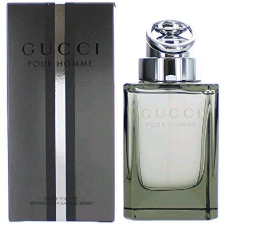 Gucci pour homme / men, Eau de Toilette, Vaporisateur / Spray 30 ml, 1er Pack (1 x 30 ml)
