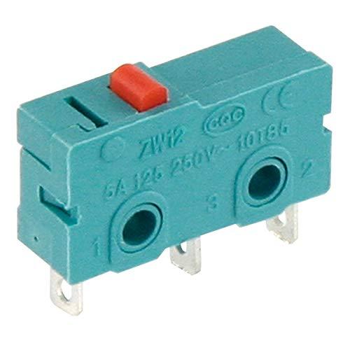 Microschalter gefedert 125-250V 5A 3 Polig Mikroschalter Endschalter Taster
