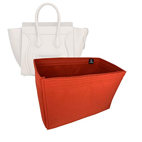 Bag Organizer for Celine Mini Luggage - Premium Felt (Handmade/20 Colors)