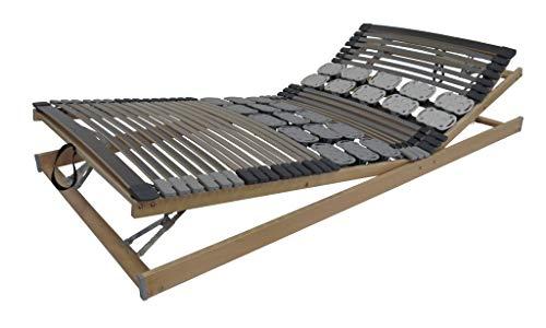 Belaro Duo System Lattenrost KRF - Lattenrost mit Leisten + Teller, KRF verstellbar 90x200 cm