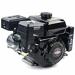 Moteur électrique – 7,5 CV 4 temps OHV – Moteur à essence – Moteur à démarrage facile – Moteur sur pied pour compresseur…