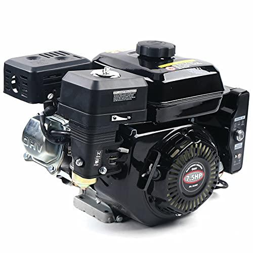 Motor de gasolina de 7,5 CV, 3600 rpm, motor de kart, motor de accionamiento de 4 tiempos, motor de repuesto, motor de arranque eléctrico, motor de gas de repuesto, 212 ccm