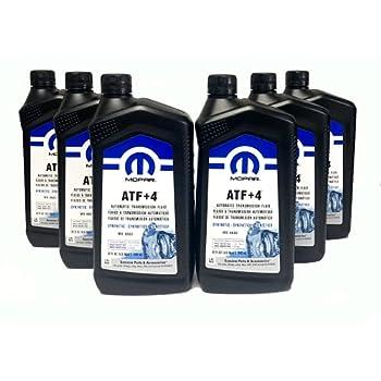 Mopar 68218057AB ATF+4 Automatic Transmission Fluid 1 Quart  6 Pack