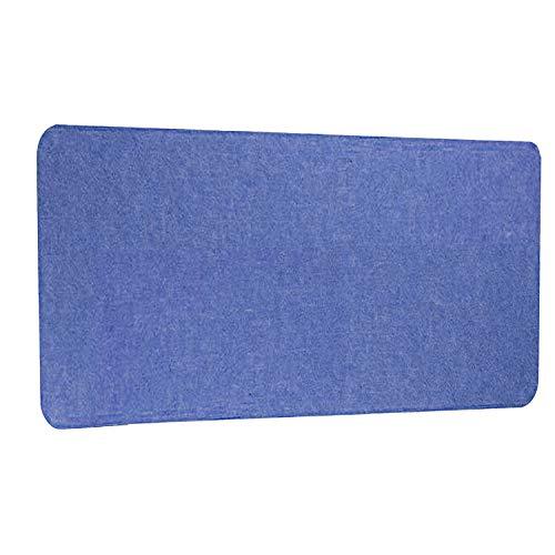 iMount Pantalla de privacidad de escritorio a prueba de fuego acústica/panel de modestia 80x35cm - Azul