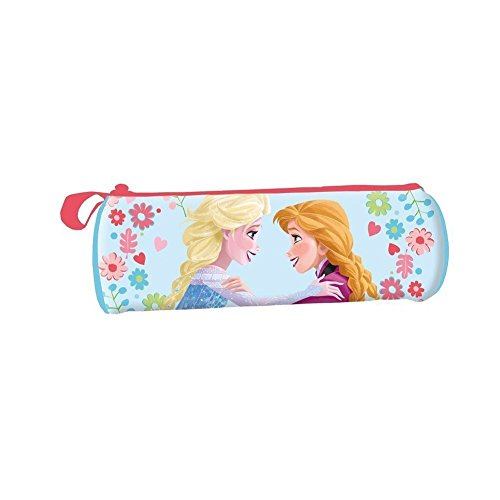 Portatodo Frozen Disney Elsa y Anna cilindrico