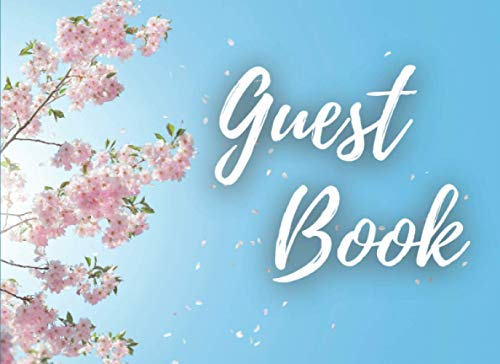 Guest Book: Registry Guestbook - 8,25
