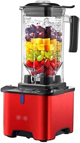 SYLOZ-URG Blender Ice Blender Professher Blender, encimera Blender 1500w, Blender de alta potencia con alta velocidad, for el hielo de arruga, Peginaje congelado, Sopa SYLOZ-URG (Color : Red)