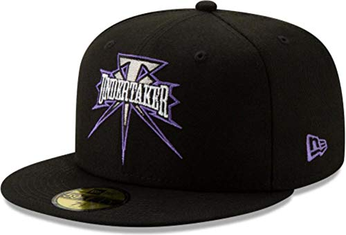 New Era The Undertaker Black Purple WWE Cap 59fifty 5950 Fitted Limited Edition